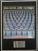 JEAN MICHEL JARRE - Framed LP Cover - EQUINOXE